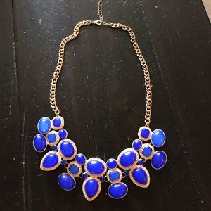 Jewelry - Royal blue statement necklace